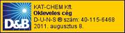 KAT-CHEM Kft. - D&B Okleveles cég