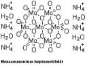 Ammonium molibdenát